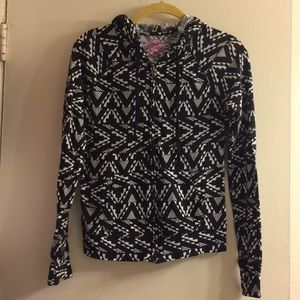 Lightweight tribal comfy hoodie! XS
